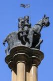 Knights Templar Statue in London Stock Photo