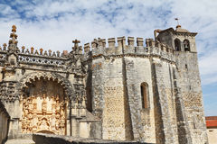 The    Knights Templar in Tomar Royalty Free Stock Images