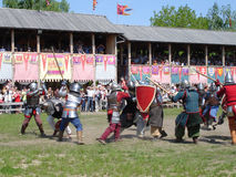 Knights tournament Stock Photos