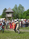 Knights tournament Royalty Free Stock Images