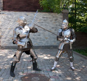 Knights Stock Photography