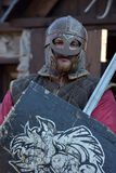 Knights Vikings Stock Photo