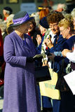 Königin Elizabeth II Stockbild