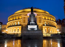 Königlicher Albert Hall Lizenzfreies Stockbild