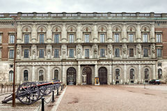 Königlicher Palast in Stockholm Lizenzfreies Stockbild
