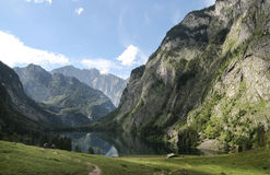 Königsee - Obersee Royalty Free Stock Photography