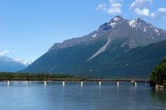 Knik River, Alaska Royalty Free Stock Images