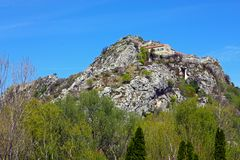 Knin-Festung lizenzfreies stockbild