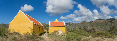 Knip landhouse  Curacao Views Royalty Free Stock Images