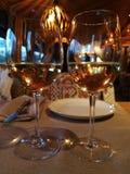 Knip van wijnglazen royalty-vrije stock afbeelding