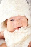 Knipoog de babyjongen van Pasen Stock Foto