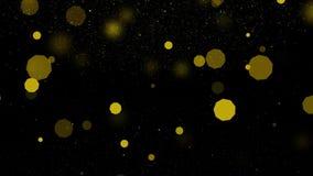 knipperend mooi en gele veelhoek royalty-vrije illustratie