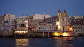 Knisja tal-Karmnu, Spinola Bay, Tas-Sliema, Malta Stock Photos