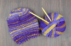 Knit и шерсти Стоковая Фотография RF