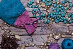 Knit шариков Стоковая Фотография