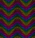 Knit-Arbeit Nahtloses Muster Lizenzfreie Stockbilder