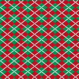 Knit Argyle Pattern Royalty Free Stock Photography