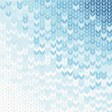 Knit background in shade of blue. Blue gradient background in knitting style Royalty Free Stock Photos
