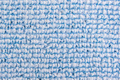 Knit blue cloth Stock Photo