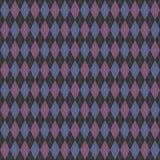 Knit di Argyle illustrazione vettoriale