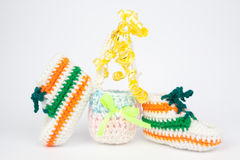 Knit gifts for Easter Stock Photos