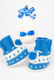 Knit gifts for Easter Royalty Free Stock Photography