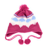 Knit hat for little girls Royalty Free Stock Image