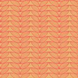 Knit linen doodle seamless pattern Stock Photo