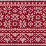 Knit-nahtlose Verzierungs-Beschaffenheit Lizenzfreies Stockbild