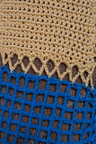 Knit pattern mosaic on tree Royalty Free Stock Images