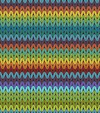 Knit pattern Stock Photography
