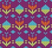 Knit pattern Stock Photo