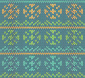 Knit pattern Royalty Free Stock Photos