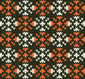 Knit pattern Stock Photography