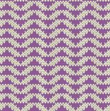 Knit pattern Royalty Free Stock Image