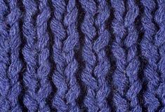Knit pourpre Image libre de droits
