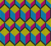 Knit Seamless Ornament Texture Royalty Free Stock Photography