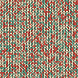 Knit seamless pattern Stock Image