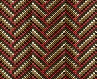 Knit seamless pattern Stock Photo