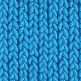 Knit sewater fabric seamless pattern texture Royalty Free Stock Image