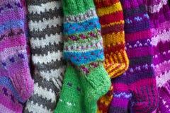 Knit Socks Royalty Free Stock Photo