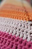 Knit stripes pattern mosaic Royalty Free Stock Photography
