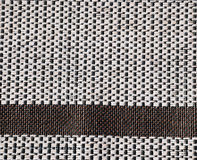 Knit Texture. A white and brown knit texture Stock Images