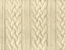 Knit texture Royalty Free Stock Images