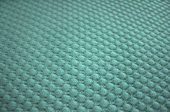 Knit texture of blue wool. Knit texture of blue wool knitted fabric with pattern. Place for text. Edges isn`t in focus Stock Photography