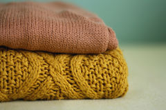 Knit Royalty Free Stock Image