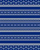 Knit vector texture Stock Photos
