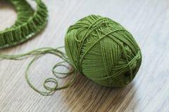 Knit vert Photo stock