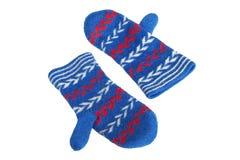 Knit Women's gloves Stock Photo