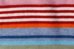 Knit wool fabric Royalty Free Stock Images